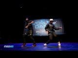 2 Animated robots take over World of Dance !!!!!