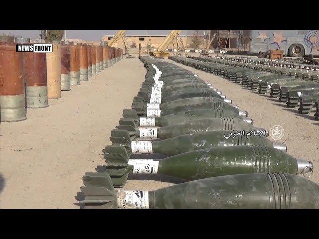Сирийская армия раскрыла крупный склад оружия в Дейр-эз-Зоре