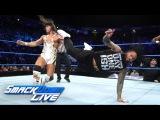 Usos vs. Benjamin &amp Gable - SmackDown Tag Team Title Match SmackDown LIVE, Nov. 7, 2017