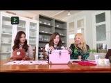 150213 SNSD Tiffany Yuri Hyoyeon (YulTiHyo) - Fany's Makeup Set @ Line TV