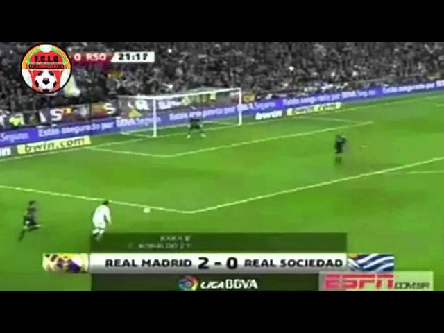 Cristiano Ronaldo dribla de costas