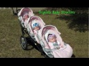 Triplets Baby Strollers █▬█ █ ▀█▀ New Collection Baby Doll Prams  Walking  Pushchairs
