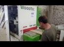Калибровально-шлифовальный станок WoodTec RRP 630 E (видео от клиента 2)