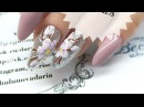 (Eng CC) Простой и быстрый весенний дизайн ногтей - яблоневый цвет, гель лак с AliExpress.