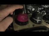 Audi A3 жидкие подкрылки - толстое резинобитумное покрытие наносится на арки в жидк...