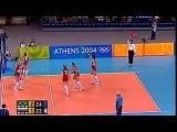 Волейбол. Афины-2004. Россия - Бразилия. Женшины.