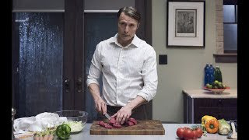 [ASMR] hannibal lecter cooking
