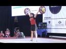 Women U15 75kg - 2017 EUROPEAN WEIGHTLIFTING CHAMPIONSHIPS U15 U17