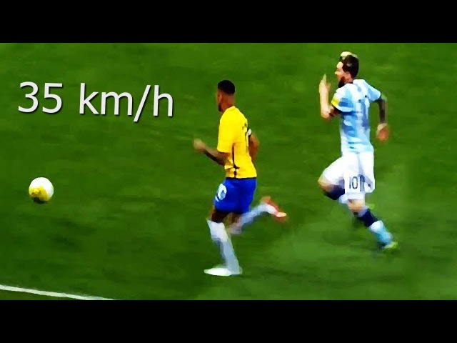 Neymar Jr Vs Lionel Messi ● Fastest Sprint Speeds ● Acceleration Show