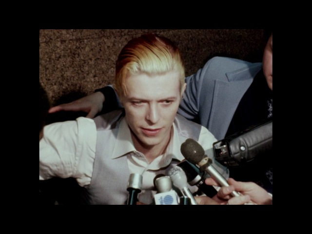 RAW: Newly uncovered footage from David Bowie's 1976 arrest in Rochester
