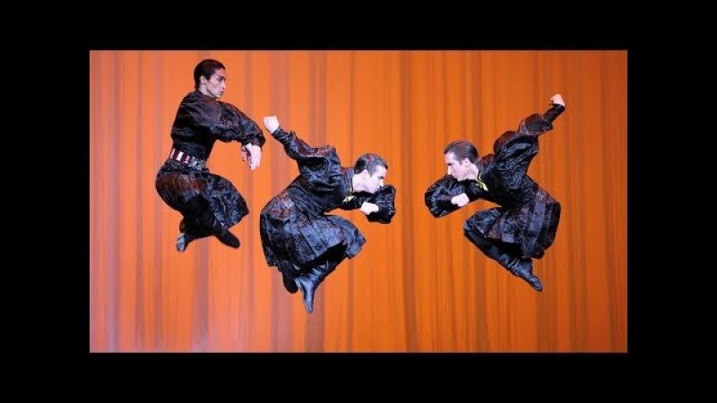 Калмыцкий танец. ГААНТ имени Игоря Моисеева.