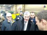 Павел Грудинин встретился с рабочими Кировского завода  Санкт Петербург  19 янва ...