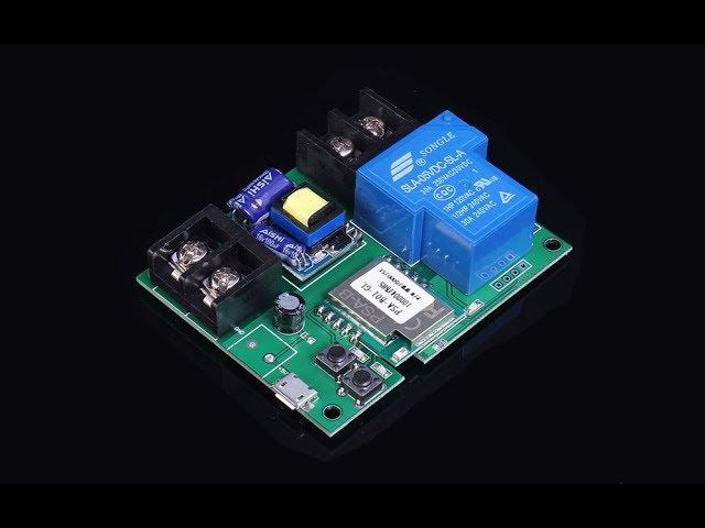 Обзор хорошего Wi-Fi реле модуля 220V 30A 6000W. Управление с любой точки мира