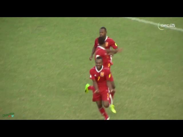 PAPUA NEW GUINEA 1 2 SOLOMON ISLANDS 2018 FIFA World Cup Qualifiers All Goals