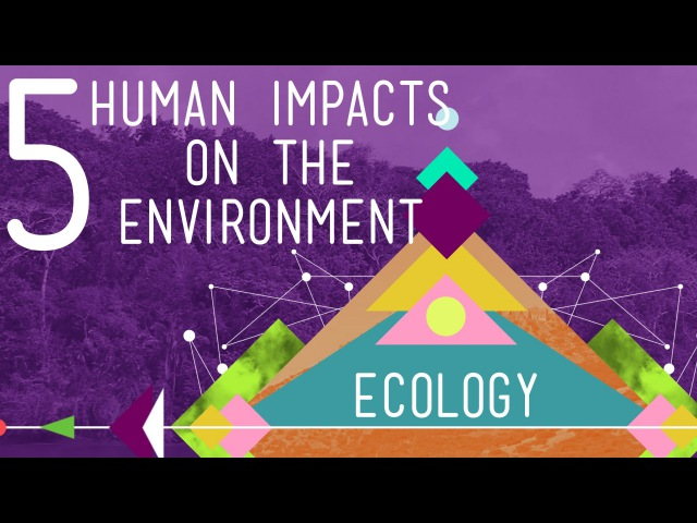 5 Human Impacts on the Environment: Crash Course Ecology 10