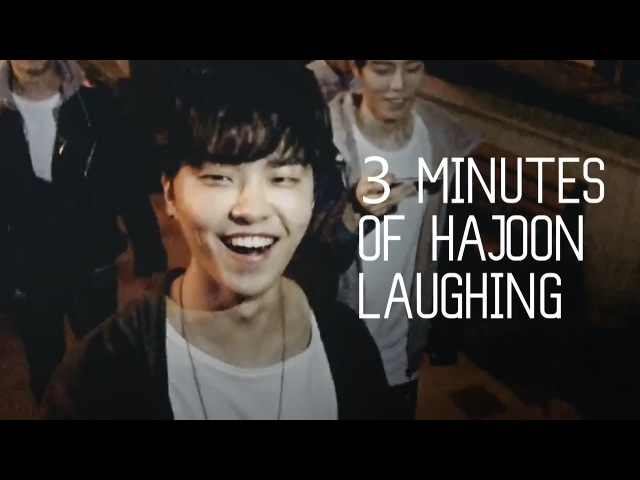 3 minutes of hajoon laughing [ 더로즈 ]