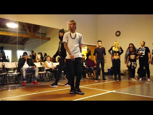 Les Twins SF | Workshop Freestyles '17