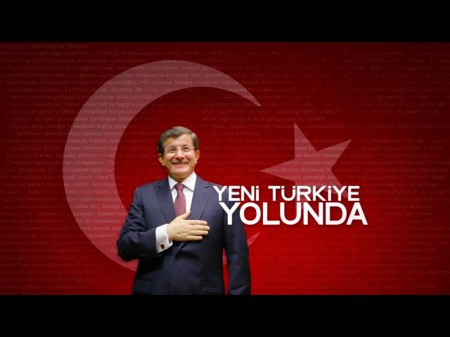 Başbakan Ahmet Davutoğlunun Yeni Türkiye Yolunda konuşması