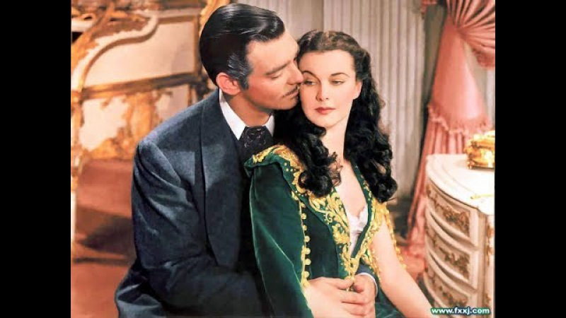 Ретт делает предложение Скарлетт выйти за него замуж Унесённые ветром Вивьен Л...