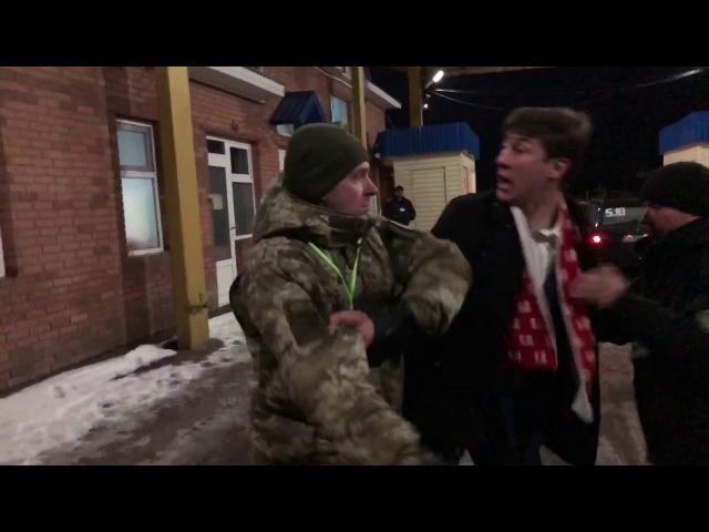 Пограничники Одессы наехали на нас и покрутили обоих в наручники за использование видеокамер.