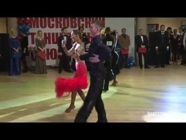 Каскин Николай - Фирсова Яна, Чемпионат МТС, 1/2 Cha-Cha-Cha