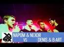 NAPOM NEXOR vs DENIS B ART Fantasy Beatbox Battle 2017 FINAL