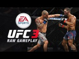EA Sports UFC 3, Early Beta RAW Gameplay, Kevin Lee vs Dustin Poirier