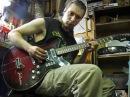Maxim A Khomchik plays Jolana Special guitar