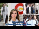 QUEEN LETIZIA OF SPAIN Shows Sophisticated FASHION STYLE in a SUIT by HUGO BOSS at SENEGAL 2017