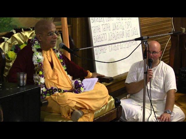 ЕС Гопал Кришна Госвами, Вечерняя лекция, Новороссийск, 04.10.2012
