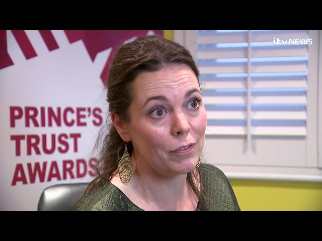 Olivia Colman soon to play the Queen in The Crown jokes about meeting 'son' Prince Charles