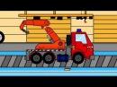 Мультик про трактор и машинки