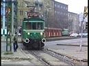 1995 11 28 HÉV szállítás a MÁV on Kén utca Törökőr Óbuda Kőbánya Kispest jó sok vonattal