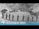 Execution Of Axis Spies By Allied Firing Squad (1945) | British Pathé