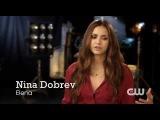 The Vampire Diaries - Nina Dobrev Interview