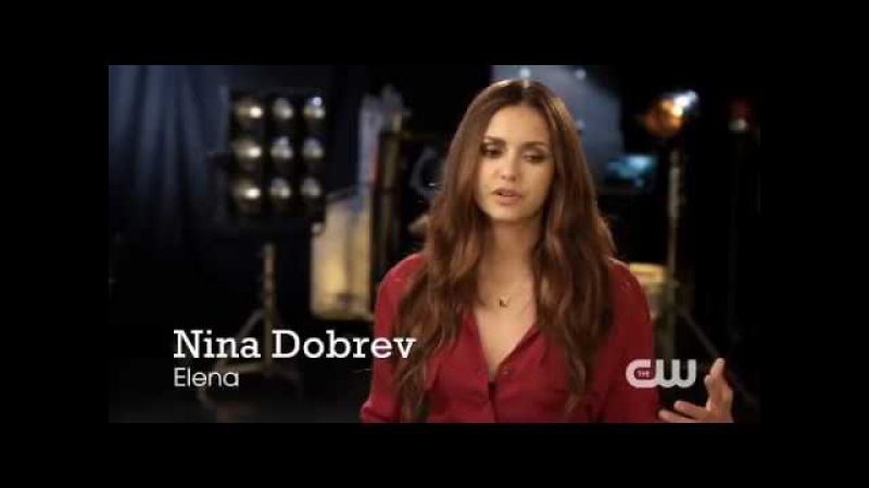The Vampire Diaries - Nina Dobrev Interview