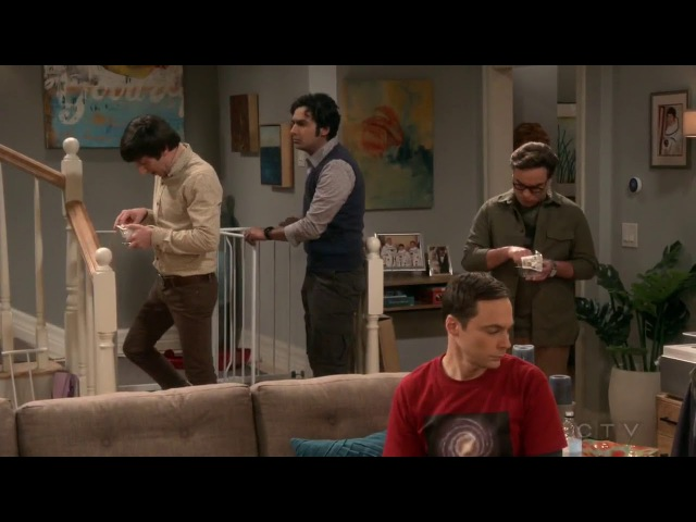 Howard's friends are baby proofing his house || maid of honor fight -The Big Bang Theory S11E12