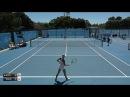 Kostyuk Marta v Wang Xiyu - 2018 ITF Burnie