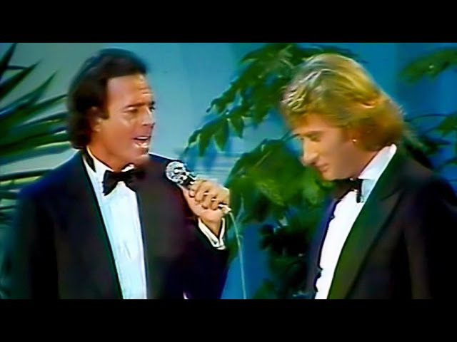 Julio Iglesias Johnny Hallyday - Me olvide de vivir (Remastered)