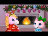 Fun Pony Care Kids Game - Pony Sisters Christmas Learn Play Secret Santa Gitsf Games For Girls