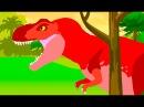 Веселые Динозаврики Тиранозавр Рекс. Динозавры Мультфильм на русском про динозавров для детей