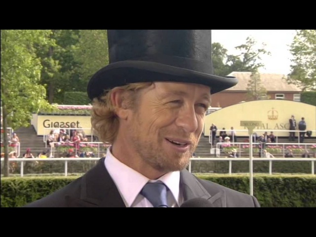 Simon Baker Royal Ascot June 2015 Channel 4 interview