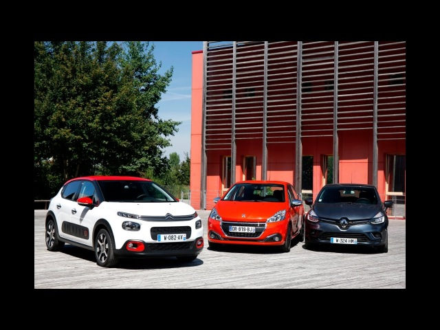 New Citroen C3 vs Renault Clio and Peugeot 208 - L'argus