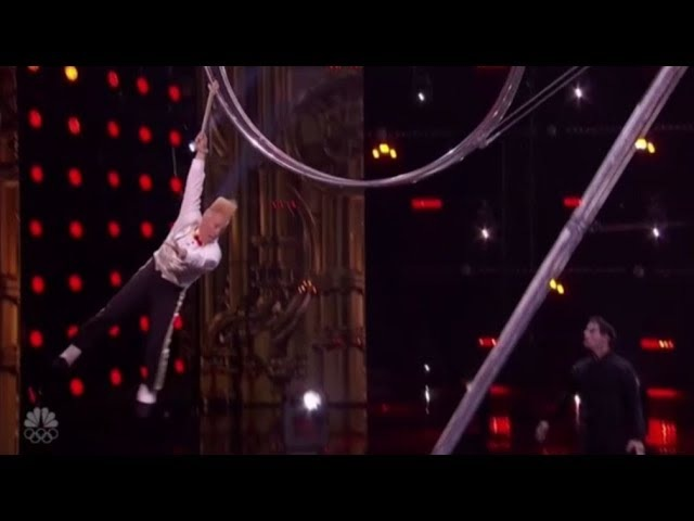 Bello Nock Simon Gives Daredevil a Second Chance and He SMASHES It America's Got Talent 2017