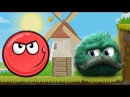 RED BALL 4 game for children about GREEN BALL adventure cartoon hero video# KID