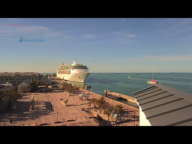 LIVE Mallory Square Key West Florida Fixed View