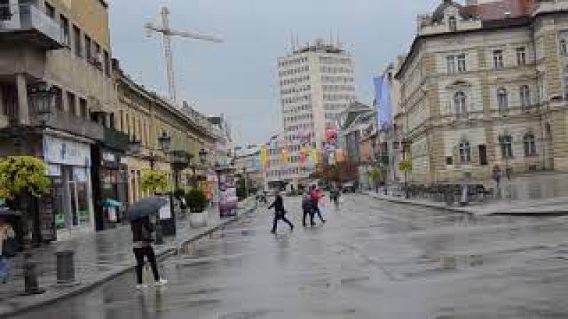 Kišno jutro u Novom Sadu