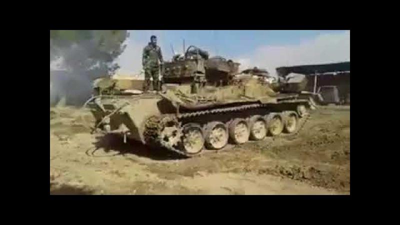 Сирийский танковый спецназ поддержат БРЭМ 1