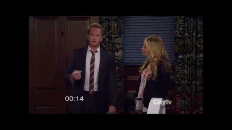 Как я встретил вашу маму за 52 секунды - момент из сериала Барни отчитывается перед стриптизершей
