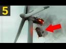 Top 5 Wind Turbine FAILS Mishaps